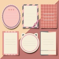 Scrapbooking elements collection