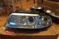 B5 A4/S4 Bixenon Retrofit 1-piece Headlights.  Plug and Play
