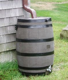 Rain Barrels - Natural Landscaping, Gardening, and Landscape Design in the Catskills and Hudson Valley including Ulster County, Ellenville, New Paltz, Kingston, and Woodstock
