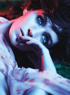 Rooney Mara. W Magazine shoot.