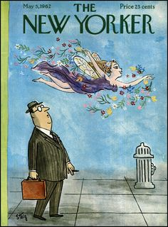 William Steig : Cover art for The New Yorker
