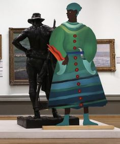 Lubaina Himid: Lost Voices Of Slavery – Walker Art Gallery – Alice Lenkiewicz