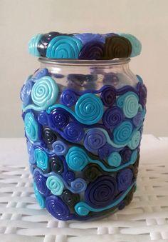 Spiral Jar
