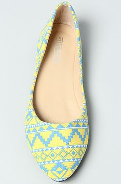 Fiebiger The Inca Shoe in Yellow and Blue : Karmaloop.com - Global Concrete Culture