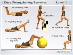 Knee Strengthening Exercises, Knee Physical Therapy Exercises, Knee Arthritis Exercises, Hip Mobility Exercises, Knee Stretches, K Tape, How To Strengthen Knees, Knee Surgery, Knee Injury