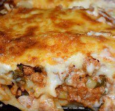 Breakfast Recipes, Snack Recipes, Snacks, Cookbook Recipes, Cooking Recipes, Mediterranean Recipes, Greek Recipes, Food Dishes, Lasagna