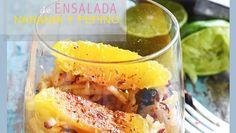 ENSALADA DE MANZANA, NARANJA Y PEPINO   Chef Oropeza