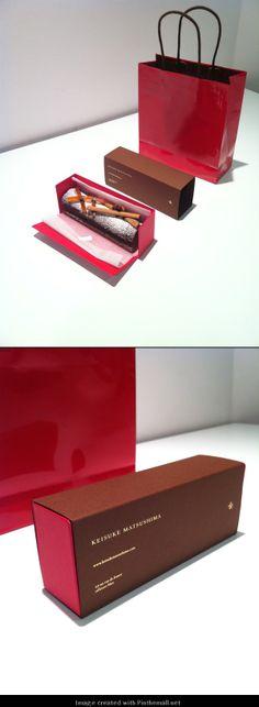 KEISUKE MATSUSHIMA + printemps : christmas cake [package design] http://www.artless.co.jp/alog/print/570/... -