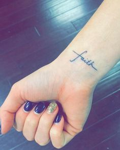 geloof in jezelf tattoo