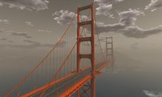 Visit the iconic landmark, spanning San Francisco Bay and connecting Marin County to The City. The bridge site also features free horse rides near the landing point, where visitors will find wearable horses, and free tours by balloon, car, wagon or boat. Explore the foggy scenery — leave your heart in San Francisco!