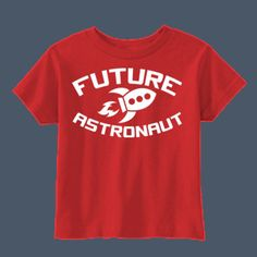 Future Astronaut kids t-shirt by airwaves custom tees