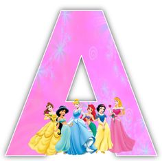Disney Princesses Alphabet & Numbers
