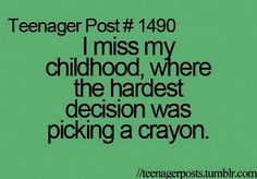 I know right! #teenagerposts