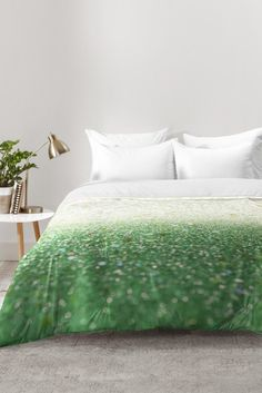 Lisa Argyropoulos Spring Mint Comforter | DENY Designs Home Accessories