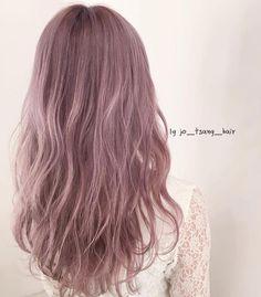 Hair Color Purple, Cool Hair Color, Green Hair, Pink Hair, Korean Hair Color, Hair Arrange, Aesthetic Hair, Dye My Hair, Ombre Hair