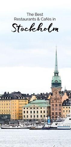 Restaurants & Cafés in Stockholm, Sweden | http://eatlittlebird.com