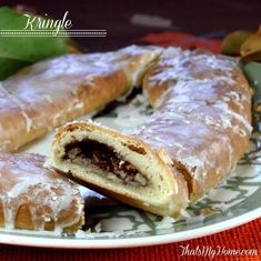 The recipe for this Kringle comes from Racine, Wisconsin. We always had Kringle for Christmas morning breakfast. The recipe for this Kringle comes from Racine, Wisconsin. We always had Kringle for Christmas morning breakfast. Christmas Morning Breakfast, Christmas Brunch, Christmas Baking, Danish Christmas, Vegan Christmas, Christmas Sweets, Christmas Cookies, Breakfast Plate, What's For Breakfast
