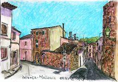 The Virtual Paintout: Majorca - February 2016