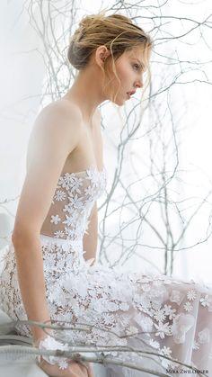 mira zwillinger bridal 2017 strapless sweetheart trumpet wedding dress (lilya) zsv