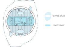 HALO - Пассивный солнечный дом Дизайн шведских студентов | Крошечный дом Жилая