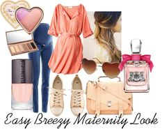 """""""Easy Breezy Maternity Look"""" by juliefarnsworth on Polyvore"""