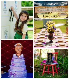 Frozen Inspired coronation Arendelle Birthday Party via Kara's Party Ideas KarasPartyIdeas.com Cake, favors, cupcakes, printables, food, and more! #frozen #frozenparty #arendellecoronationparty #frozenpartyideas #frozencakeideas #frozeninvitation (2)