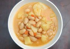 Hustá fazuľová polievka :)
