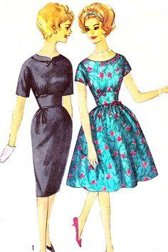 1960s Dress Pattern Simplicity 4183 Kimono Sleeve by paneenjerez, $20.00