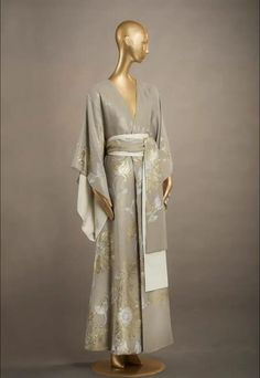 Carine Gilson Look 01 - Long Kimono Jacquard Silk Abaya Fashion, Kimono Fashion, Fashion Outfits, Womens Fashion, Kaftan Style, Kimono Dress, Long Kimono, Indian Dresses, Passion For Fashion