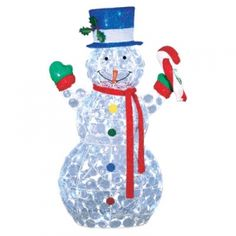 everstar 3d led random twinkle snowman mills fleet farm 48 plus handling