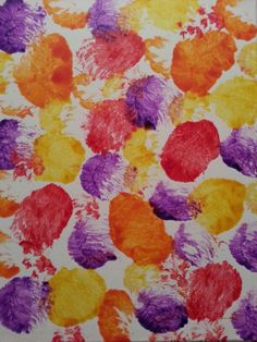 """Patti Spillman, a local infant childcare provider, enjoys her hobby of painting. With a """"just for fun"""" canvas size of 12"""" x 12"""", her abstract watercolors are very suitable for a child's bedroom or playroom. She works with both bright bold colors, and soft muted pastels, to suit a variety of environments."""