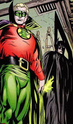 Alan Scott & Batman (DETECTIVE COMICS #784, Sept. 2003) - Patrick Zircher (Pencils), Aaron Sowd (Inks) & Jason Wright (Colors)
