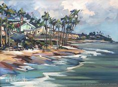 Harbor & Coastal Scenes   Carla Bosch Landscape Art, Landscape Paintings, Landscapes, Oil Paintings, San Clemente Pier, South African Artists, Bosch, Coastal, My Arts