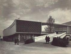 Pavilhão do Brasil em 1939 - Lucio Costa e Oscar Niemeyer