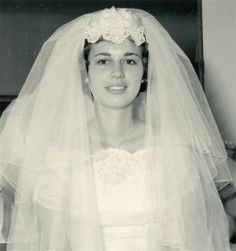 1950's Photograph Beautiful Bride