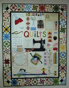 A Quilters World pattern by Lori Holt of Bee in my Bonnet...love her patterns, her fabric and her blog!