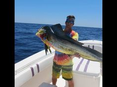 Outer Banks Gaffer Dolphin Fishing - YouTube