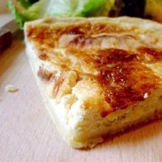 Quiche au Maroilles Belgian Cuisine, Belgian Food, Quiches, Quiche Muffins, Cheese Quiche, Sweet Pie, French Food, Pie Recipes, Street Food