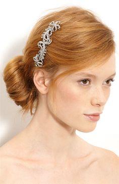 Nina 'Caleigh' Swarovski Crystal Comb $175.00