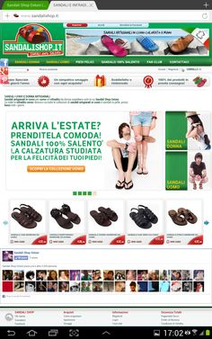 Our E-commerce: www.sandalishop.it  -- Sandals Shop Online from Italy