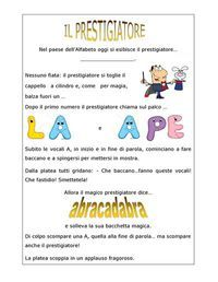 Il prestigiatore Apostrofo | PDF to Flipbook