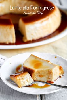 eat in italian Sweet Recipes, Cake Recipes, Dessert Recipes, Caramel Mou, Sweet Corner, Cocktail Desserts, Latte, Portuguese Recipes, Sweet Bread