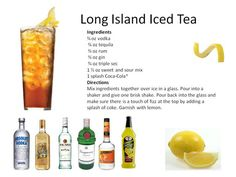 How Do You Make Blue Long Island Iced Tea