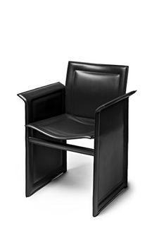 Nr 1 Talk Armchair by SericoDesign Black Leather Office Furniture, Home Furniture, Furniture Design, Single Chair, Sofa Chair, Dining Chairs, Black Leather, Home Decor, Armchairs