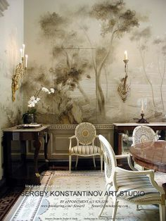 Murals & Decorative Painting San Francisco.Art Studio Sergey Konstantinov.Classic Mural.     If you want these breathtaking images as your Google Homepage you can for Free at http://chrome-theme.org