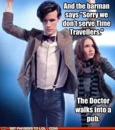 Time travel humor