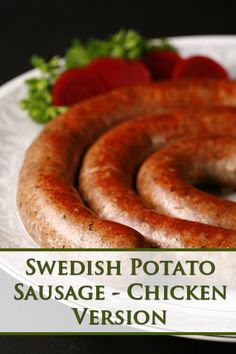 Winter Holiday, Holiday Ideas, Authentic Salsa Recipe, Chicken Base, Scandinavian Food, Sausages, Sausage Recipes, Thanksgiving Recipes, Gluten Free Recipes