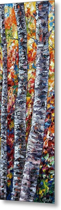 SOLD Thank you to the customer and to @Shoppixels #Shoppixels #FineArtAmerica @Pixels @Shoppixels @FineArtAmerica #aspen #aspens #aspentrees #paletteknife #impasto #painting #art