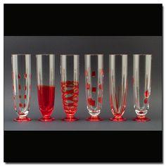 GLASSES»CALICI DIVERSI»2055/R.AF - Carlo Moretti products, L'ISOLA