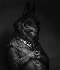 The Hare Duke, Vladimir Malakhovskiy on ArtStation at https://www.artstation.com/artwork/oqZQJ